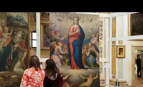 VIDEO Le visite nel fine settimana di Pasqua