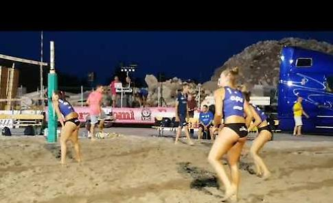 VIDEO L'incontro di beach volley Pomì-Scandicci a Casalmaggiore