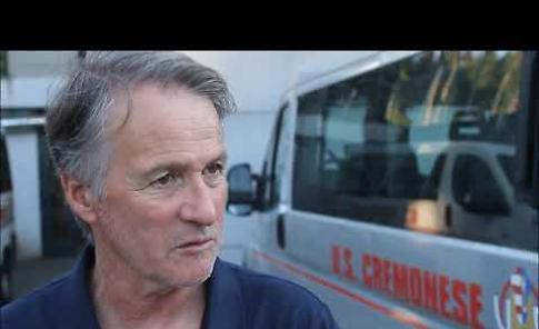 VIDEO Intervista a mister Tesser della Cremonese dopo il primo test