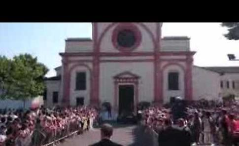 VIDEO L'arrivo del Papa