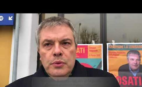 VIDEO Intervista a Onorio Rosati, candidato LEU alla presidenza della Regione, in visita a Casalmaggiore