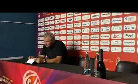 VIDEO Il dopo partita con coach Sacchetti