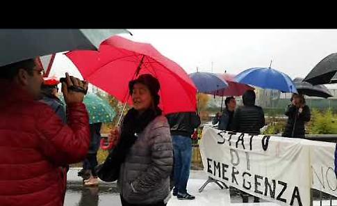 VIDEO La manifestazione spontanea di domenica 5 novembre