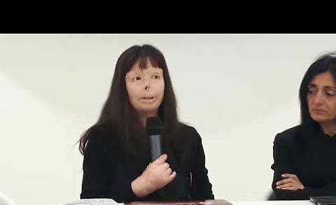 VIDEO Valentina Pitzalis a Crema: 'Segnata dalla violenza, ora sorrido alla vita''