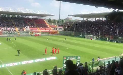 VIDEO Cremonese-Venezia: così in campo
