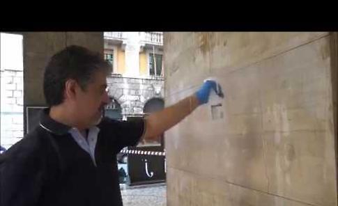 VIDEO La pulizia della Galleria XXV Aprile a Cremona