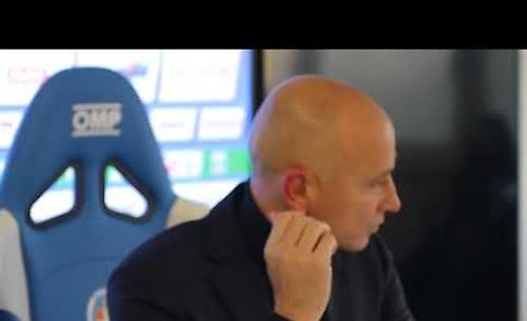 VIDEO Novara-Cremonese, Eugenio Corini in sala stampa