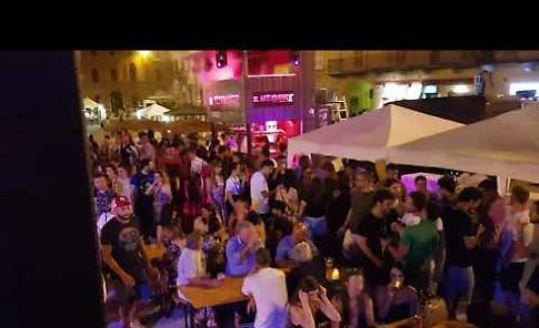 VIDEO Fiera di Piazza Spagna serata disco remember 70/80