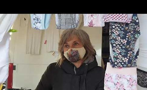 VIDEO Mercato completo, interviste agli ambulanti