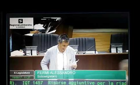 VIDEO Il question time in Regione Lombardia sul Ponte di Po
