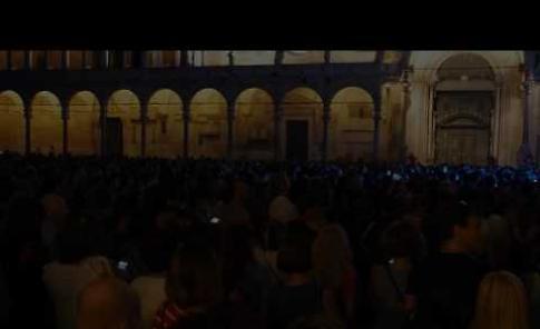 VIDEO Il concerto di Francesco Renga a Cremona