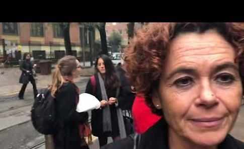 VIDEO2 Il presidio Pd a Regione Lombardia