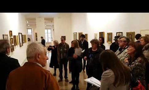 VIDEO La mostra del pittore Giuseppe Diotti a Casalmaggiore