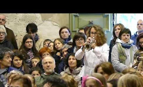 VIDEO Il concerto della Mauro Moruzzi Junior Band a Castelponzone