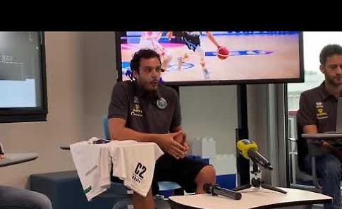 VIDEO Vanoli, ecco coach Galbiati: 'Sono carico e orgoglioso di essere qui'