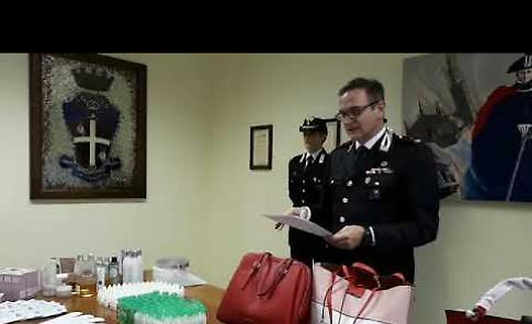 VIDEO2 La conferenza stampa dei carabinieri