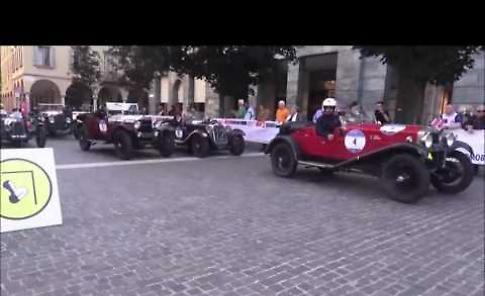 Il video della Mille Miglia a Cremona