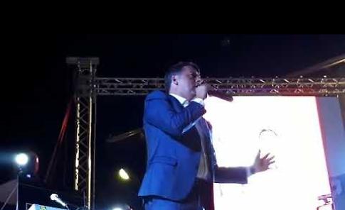 Matteo Renzi alla Festa de l'Unità di Ombrianello