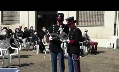 VIDEO Spadino benedetto per i due gemelli Cadetti