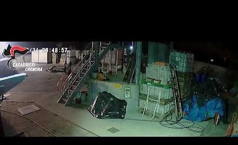 VIDEO Operazione Black out, i ladri di rame ripresi durante i furti