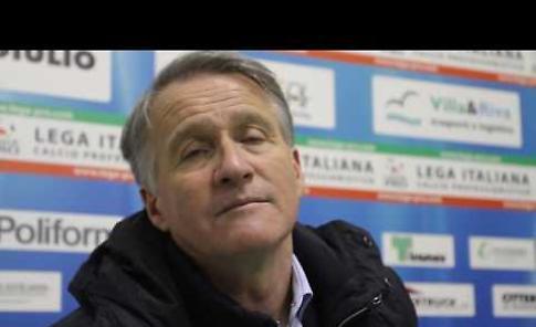 Intervista a Attilio Tesser dopo Renate-Cremonese - 0-2