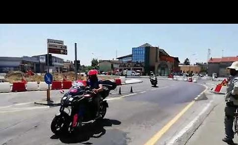 VIDEO Il transito del Giro d'Italia U23 di ciclismo