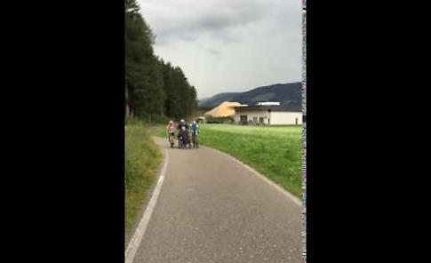 Crema - San Candido: biciclettata speciale per Pierluca Finardi
