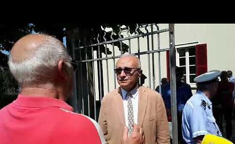 VIDEO Il prefetto Gagliardi nella Sergnano devastata dal maltempo: 'Vi state già rialzando'