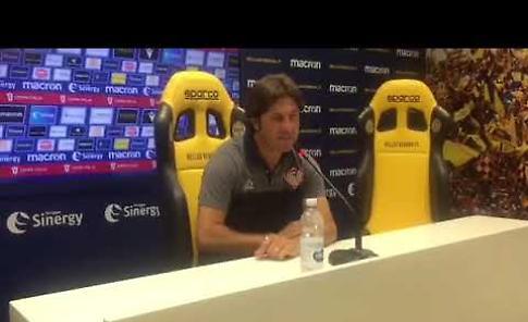 VIDEO Verona-Cremonese, mister Rastelli: vittoria che dà morale