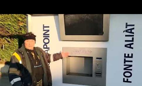 VIDEO Il sindaco Palladini sull'imbrattatura della casa dell'acqua