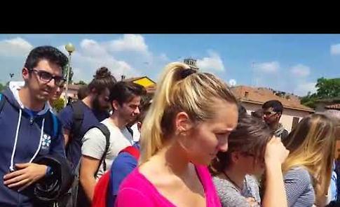 VIDEO Concerto degli studenti del Romani davanti a San Rocco a Casalmaggiore