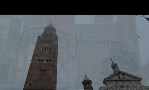 VIDEO La magia di Cremona imbiancata dalla neve