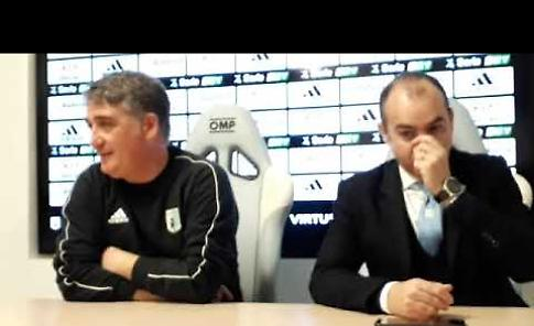 VIDEO Entella-Cremonese 1-1: l'analisi di mister Boscaglia