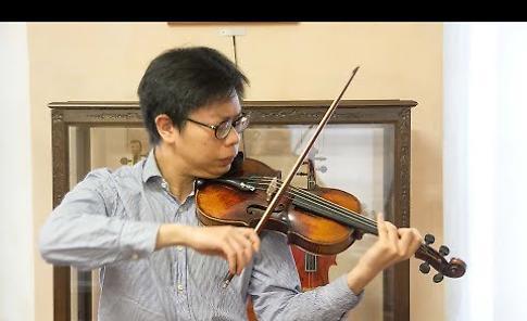 VIDEO Riassestato  il violino di Buchenwald