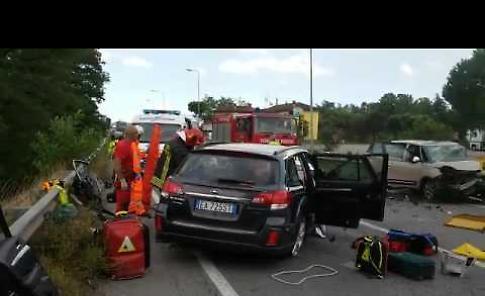 VIDEO L'incidente stradale sulla Paullese