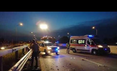 VIDEO I soccorritori mobilitati sulla scena del terribile incidente di Dovera