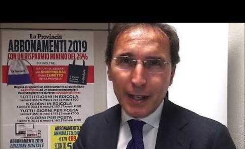 VIDEO Segreteria Pd, intervista a Francesco Boccia nella redazione de La Provincia