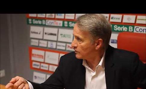 VIDEO Mister Attilio Tesser dopo Cremonese-Palermo