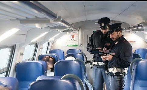VIDEO Una mattinata con la Polfer a bordo dei treni