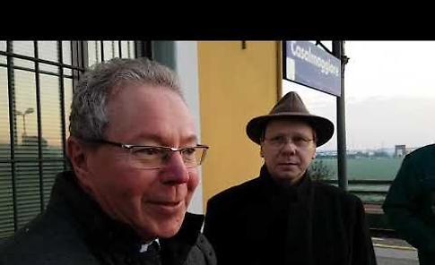 VIDEO Presidio in stazione del comitato TrenoPonteTangenziale
