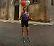 L'ultramaratoneta Degani nell'ex zona rossa