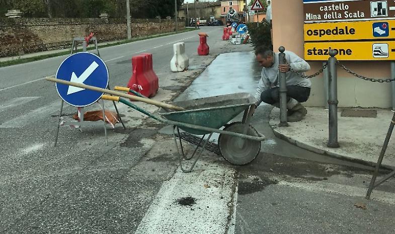 Interventi alla sicurezza delle strade, finanziamenti dalla Regione