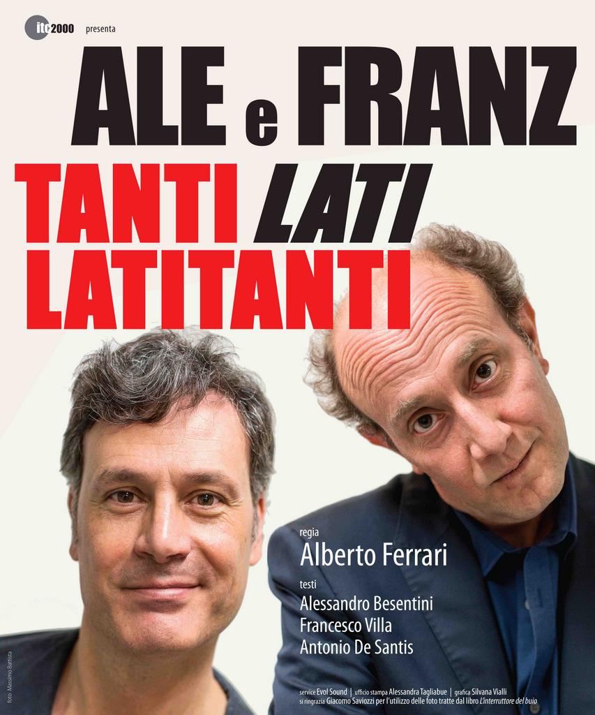 Ale Franz In Tanti Lati Lati Tanti A Brescia Giovedi 1